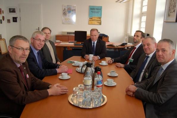 GEspräch LV mit Senator
