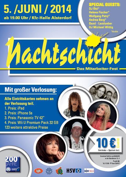 Plakat-Mitarbeiterfest