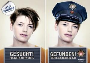 Polizisten zusammenleben mit einem Wenn Polizisten